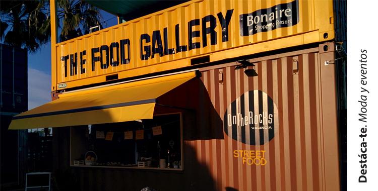 the food gallery bonaire Destaca-te Paloma Silla food street pop up restaurant