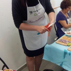 Farmacia Amparo Burgos Paloma Silla Destaca-te taller comida saludable