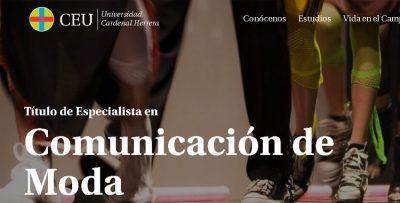 UCH-CEU título comunicación de moda Paloma Silla Destáca-te