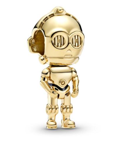 C-3PO charm Pandora colección Sttar Wars