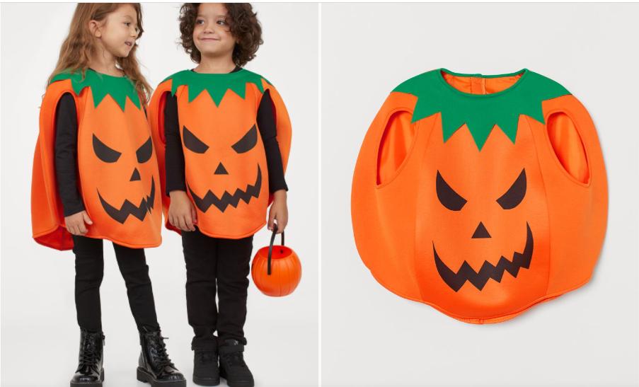 Disfraz calabaza H&M Halloween 2020