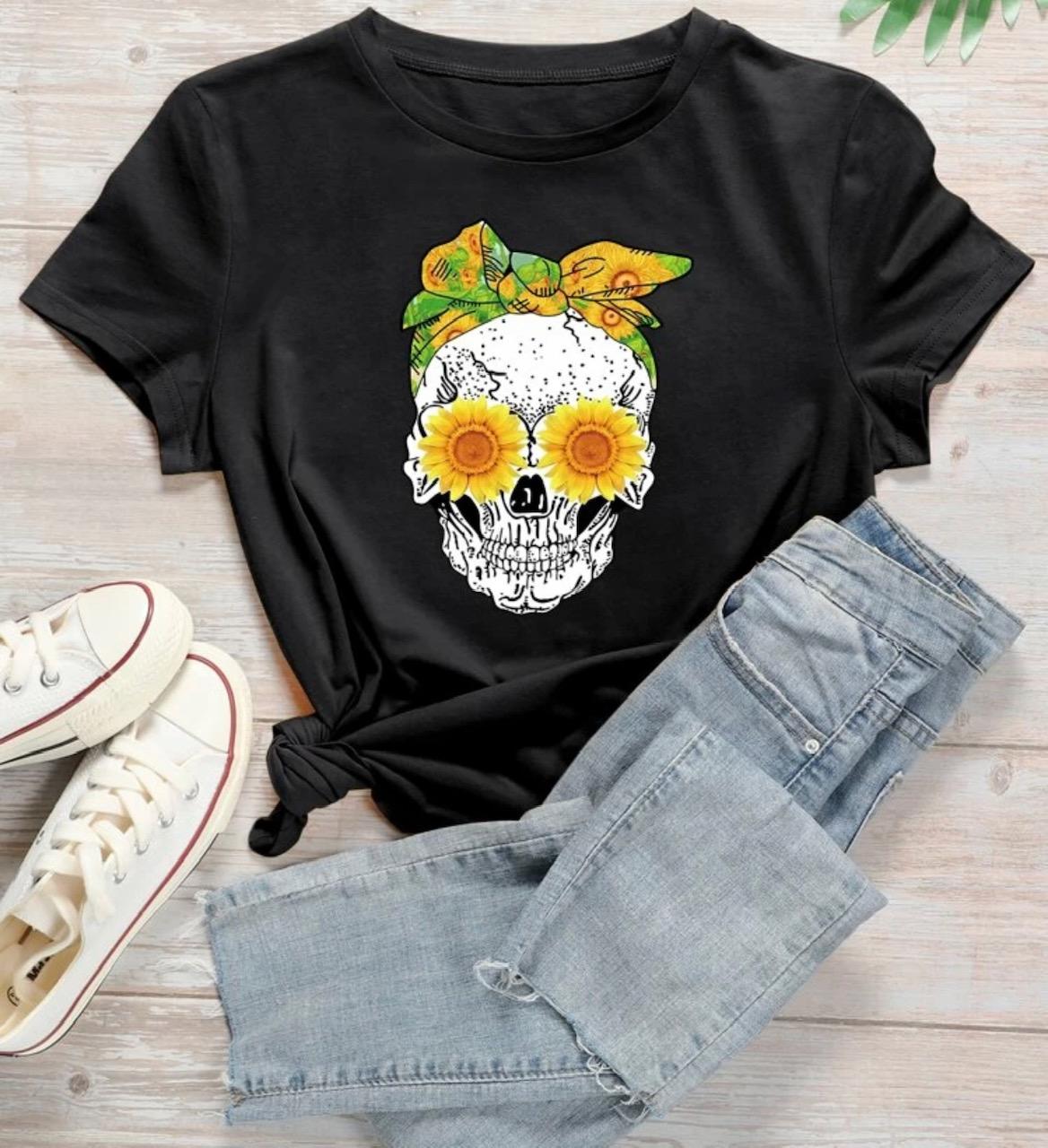 Sorteo camiseta Halloween talla xs Destáca-te Paloma Silla