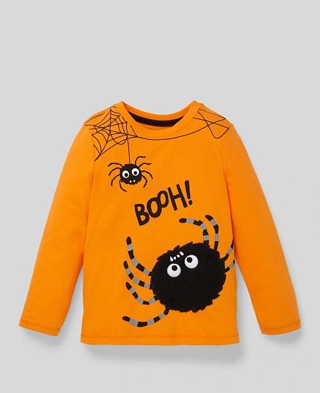 Camiseta C&A arañas Halloween 2020
