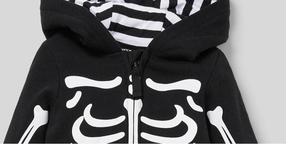 Monos esqueleto para bebé C&A Halloween 2020