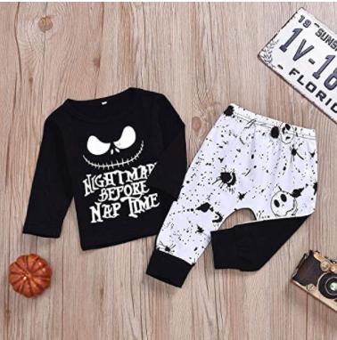 Pijama JacK Pesadilla Antes de Navidad Halloween 2020 Amazon