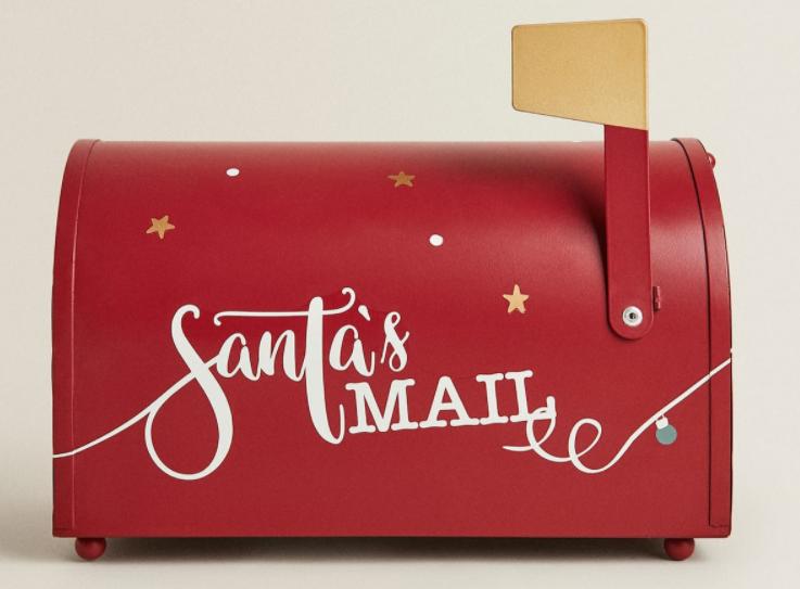 Buzón de Santa Claus Zara Home Navidad 2020