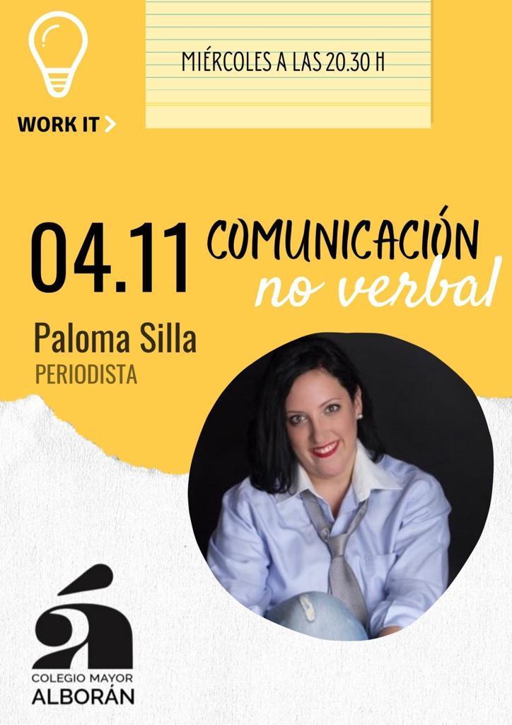 Cartel taller Comunicación No Verbal