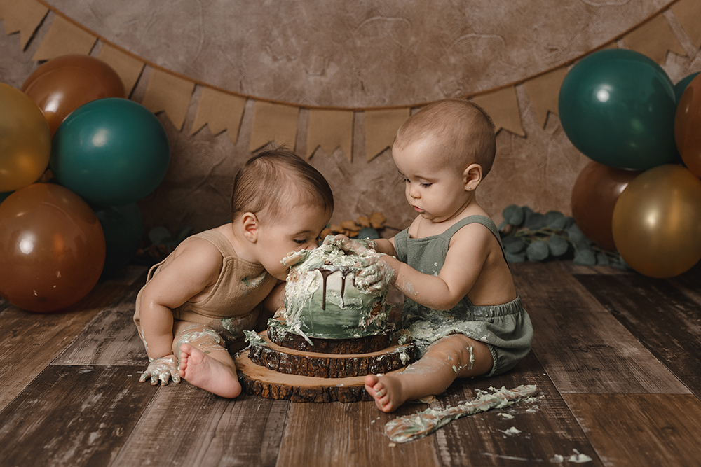 Sesión Smash Cake Pablo Alma Destáca-te