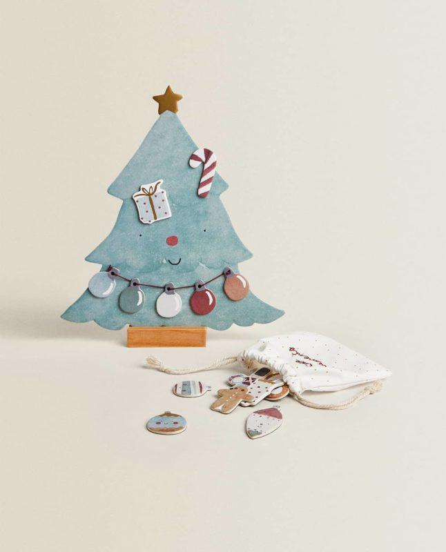 Árbol Navidad 2020 imanes de Zara Home
