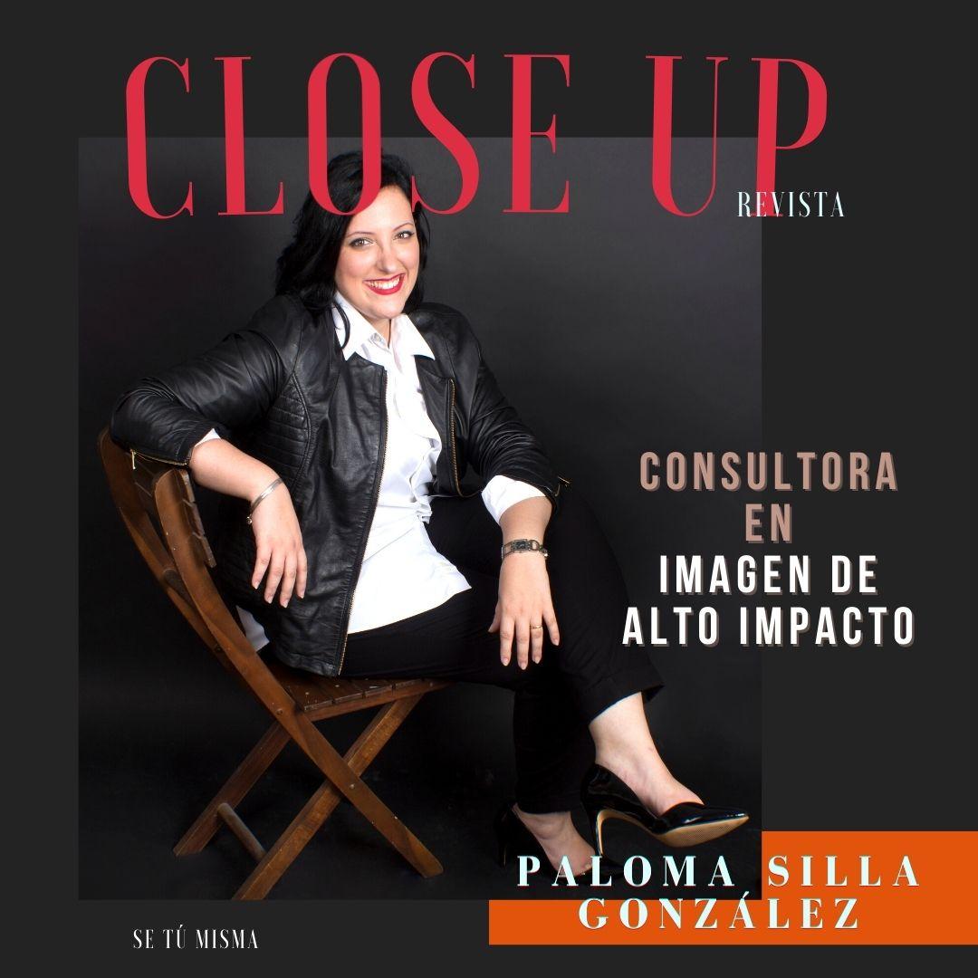 Entrevista sobre imagen de alto impacto y comunicación no verbal científica - Revista Close Up - Destáca-te - Paloma Silla