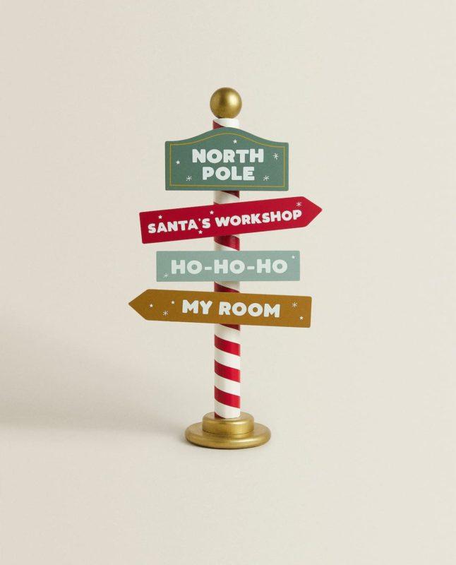 Señal Santa Claus Zara Home