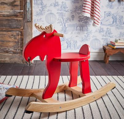 Alce balancin madera IKEA. Regalos Navidad y Reyes