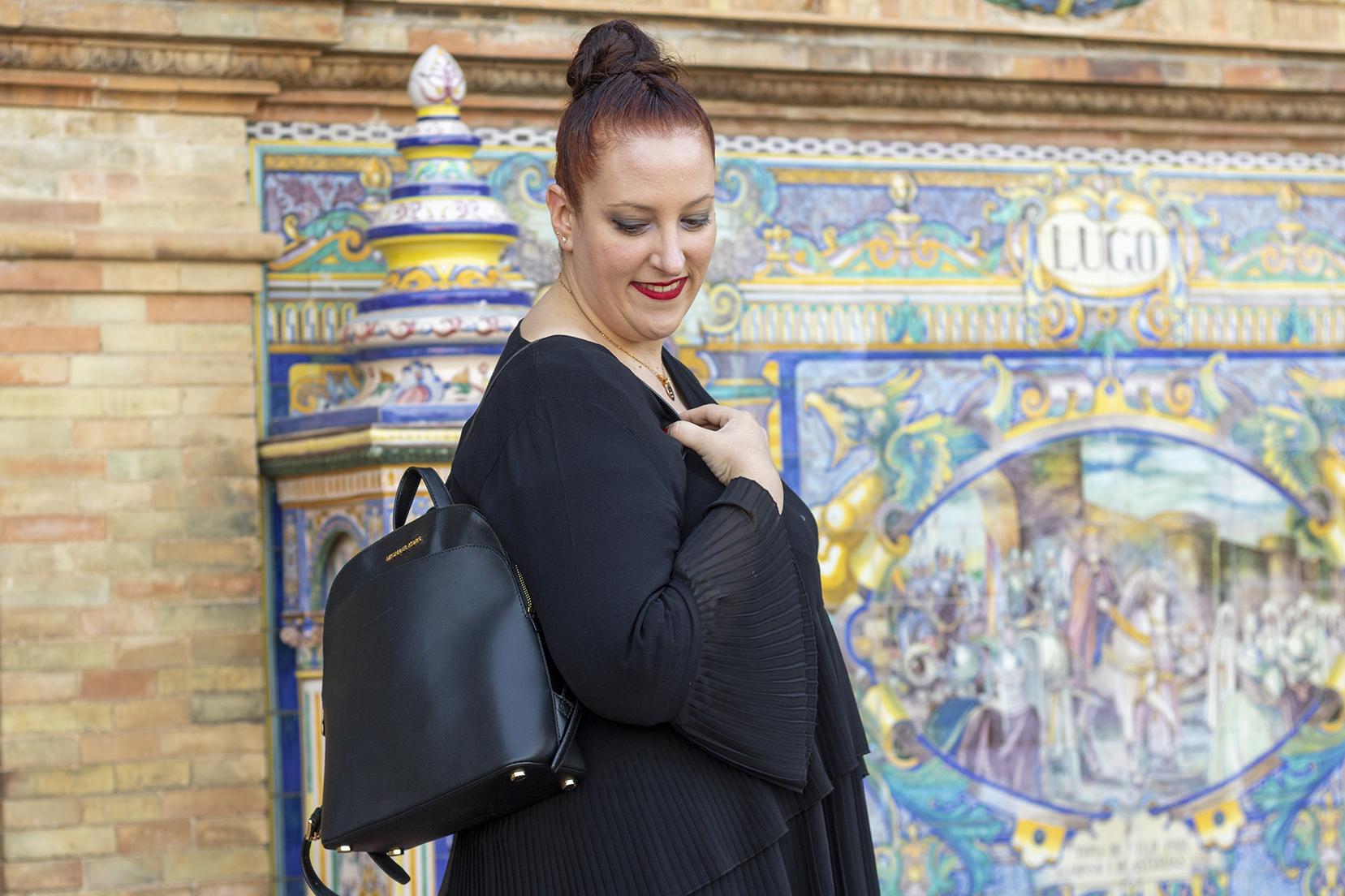 Paloma Silla Destáca-te. Tallas Grandes Black Zara