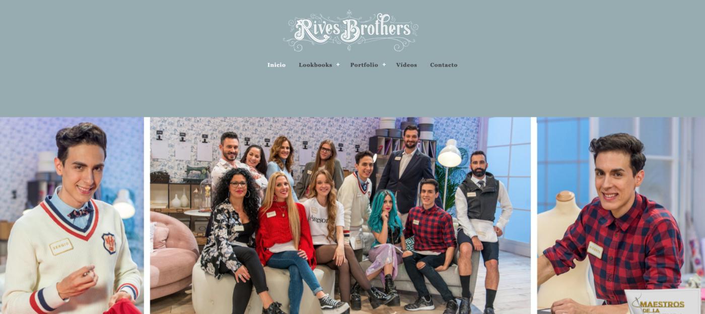 Rivers brothers gemelos Maestros de la Costura Tertulia Coso Moda Destáca-te Paloma Silla