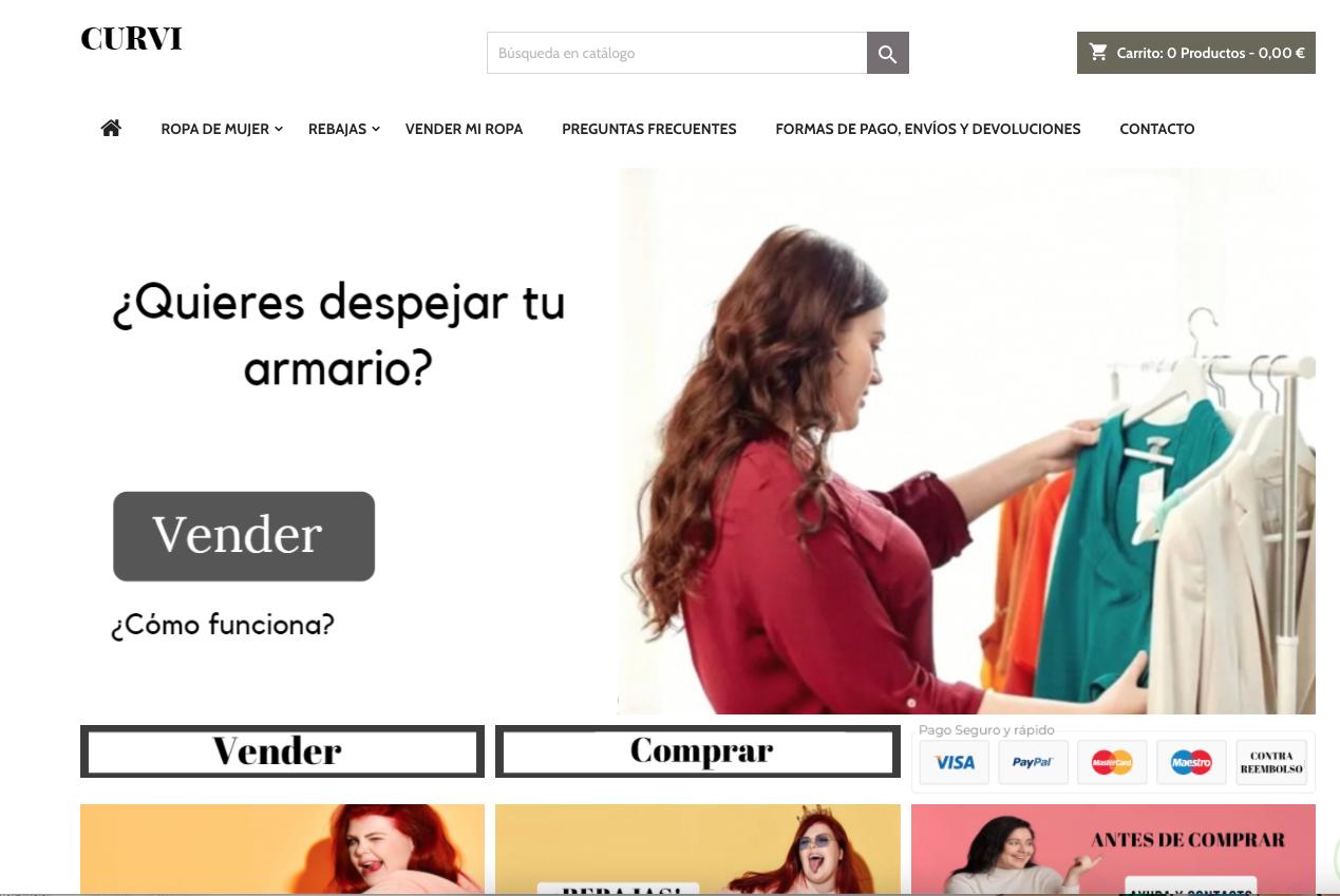 Curvi-ropa-segunda-mano-comprar-vender-Paloma-Silla-Destaca-te