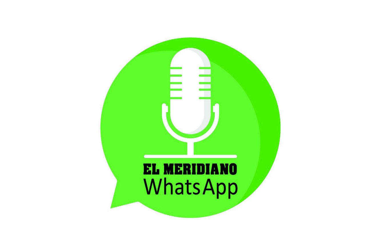 Audio noticias whatsapp El Meridiano Horta Paloma Silla Destaca-te