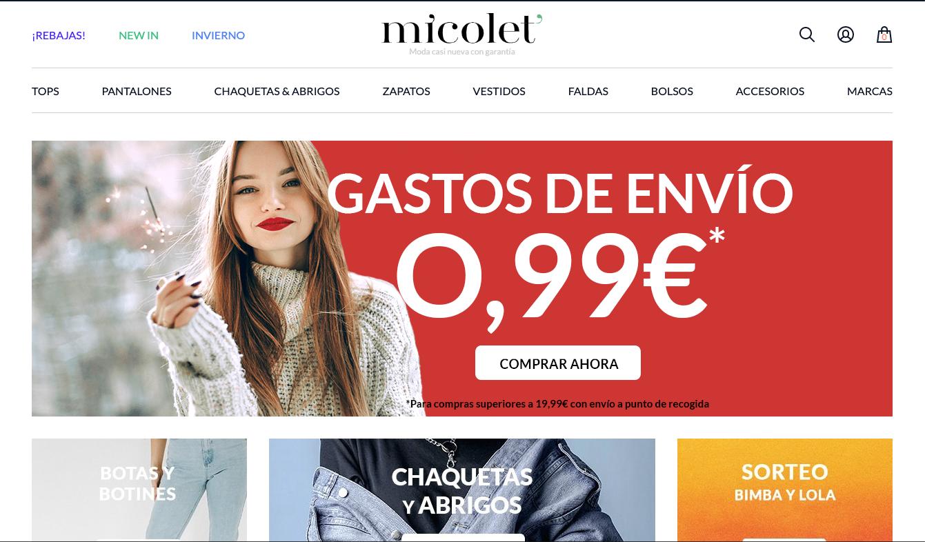 Micolet-ropa-segunda-mano-comprar-vender-Paloma-Silla-Destaca-te
