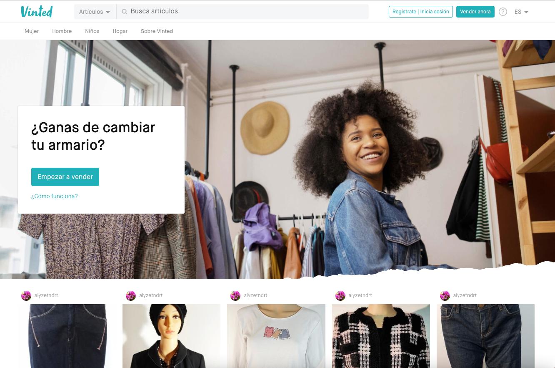 Vinted -ropa-segunda-mano-comprar-vender-Paloma-Silla-Destaca-te