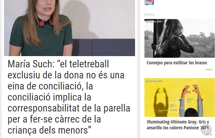 Consejos moda El Meridiano L'Horta Destáca-te Paloma Silla