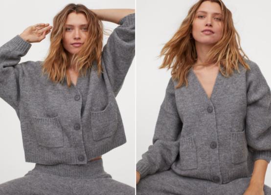 comfy conjunto gris H&M Paloma Silla Destáca-te